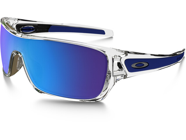 Oakley Turbine Rotor Sunglasses polished clear/sapphire iridium